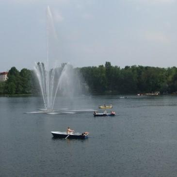 Pilotprojekt der BSR – am Weißen See wird aufgeräumt