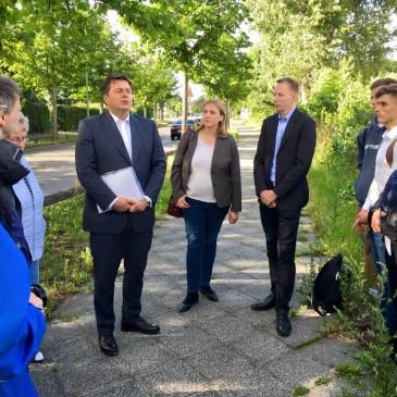 Ein Spaziergang durch Blankenburg – mit Rona Tietje und Andreas Geisel