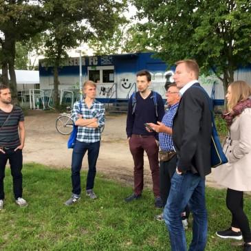 Unterwegs im Wahlkreis – zu Besuch beim Weißenseer FC