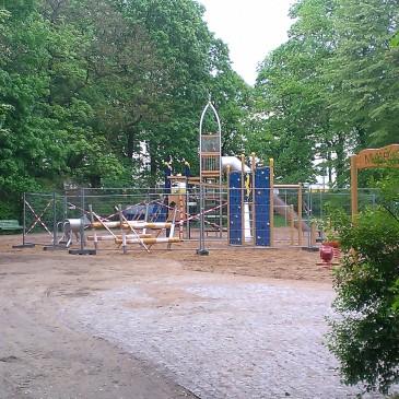 Neue Spielplätze für Weißensee