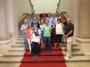 Besuchergruppe aus Blankenburg zu Gast im Abgeordnetenhaus