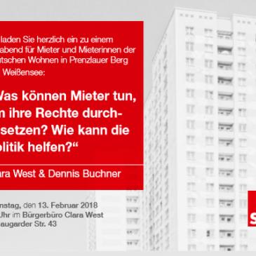 Infoabend für Mieterinnen und Mieter der Deutschen Wohnen