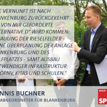 """Die Vernunft ist nach Blankenburg zurückgekehrt: """"Alternative D"""" wird kommen"""