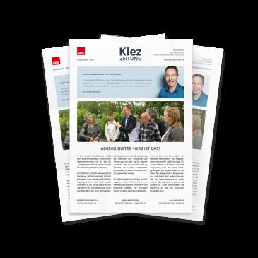 """Neue Kiezzeitung: Top-Thema """"Rot-rot-grüne Koalition entlastet Eltern"""""""