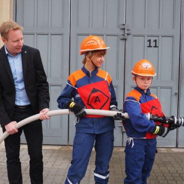 Zu Besuch bei der Freiwilligen Feuerwehr Weißensee