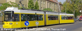 Neue Tramverbindung zwischen Pankow, Heinersdorf und Weißensee