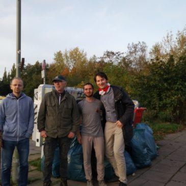 Erneute erfolgreiche Aufräumaktion in Weißensee