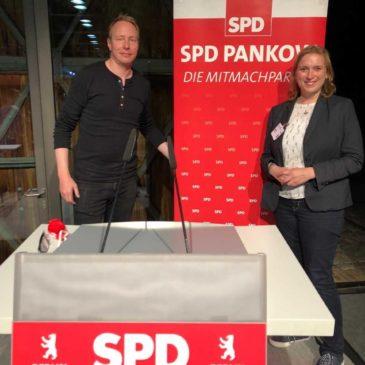 Rede beim Kreisparteitag der Pankower SPD