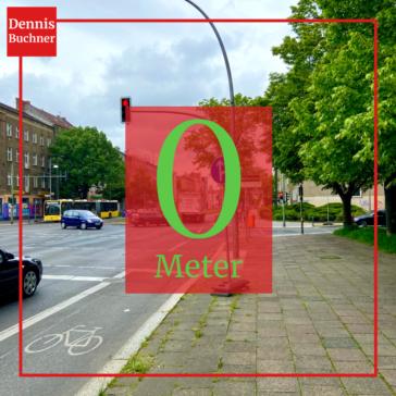 Fünf Jahre Grüne Verantwortung für den Verkehr im Bezirk Pankow und im Land Berlin – Null Meter neue Radwege für Weißensee, Blankenburg und die Stadtrandsiedlung Malchow