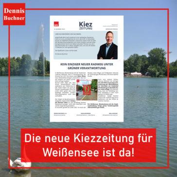 Die neue Kiezzeitung für Weißensee ist da!