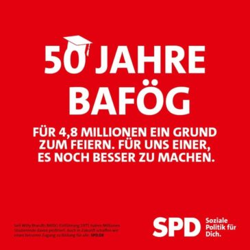 50 Jahre BAFöG